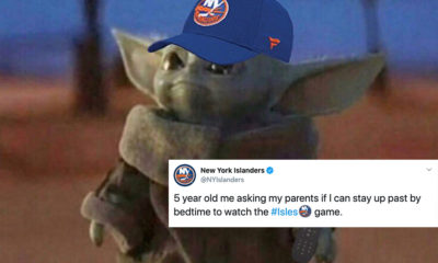 Athletes share Baby Yoda
