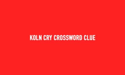 Koln cry crossword clue Solution