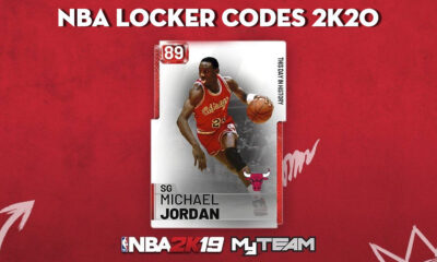 NBA 2K20 Locker Codes August 2020