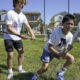Teen lacrosse players score goal in fight against hunger