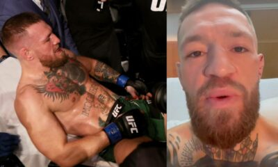 Conor McGregor sends message to Dustin Poirier after undergoing leg surgery