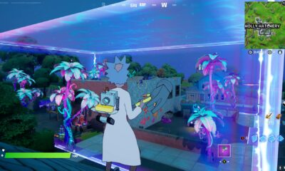 Fortnite- Where to place the bioscanner in the alien biome