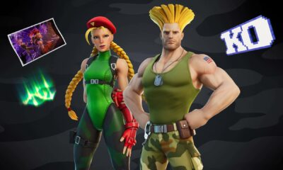 How to get Street Fighter's Guile and Cammy in Fortnite
