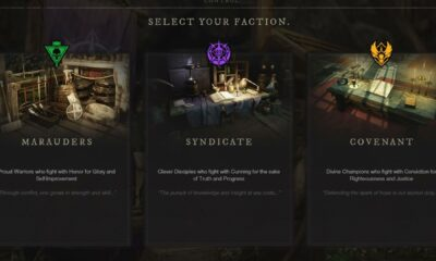 What are the three Factions in New World?