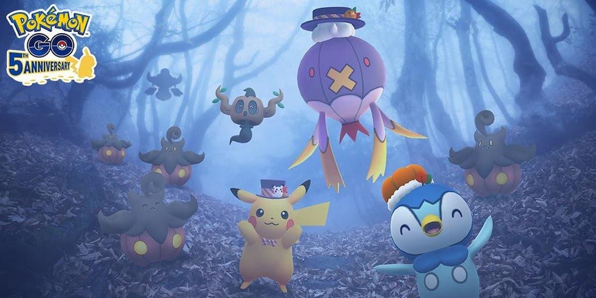 Pumpkaboo Collection Challenge in Pokémon Go